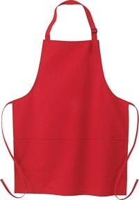 Adjustable Full Length Apron with Pockets (55001)