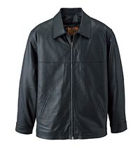 Men's Nappa Leather Jacket (L00490)
