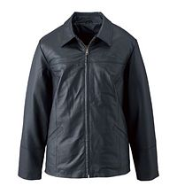 Ladies' Nappa  Leather Jacket (L00491)