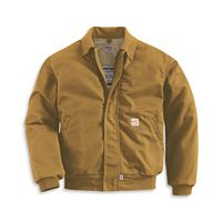 Men's Flame-Resistant All-Season Bomber Jacket (FRJ020)