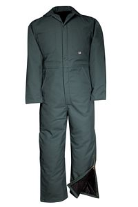 Mid-Weight Insulated Twill Work Coverall (837)