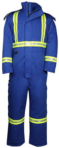 FR Warm Ins. HV Coverall - UltraSoft (M805US7)