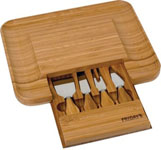 Bamboo Cheese Serving Set (SH35)