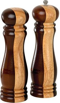 "8"" Wooden Salt & Pepper Mill Set (HW33)"
