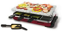 8 Person Classic Raclette Party Grill with Granite Stone (KF-77045)