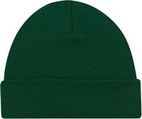 Acrylic Cuff Toque - Rib Knit Forest Green (0530M)