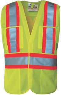 High Visibility Safety Vest (6135G)