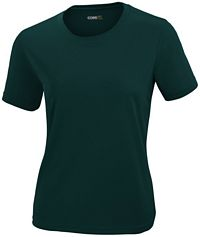Ladies' Pique Crew Neck T-Shirt (78182)