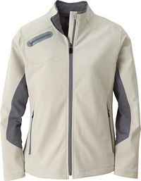 Ladies' 3-Layer Soft Shell Jacket (78621)
