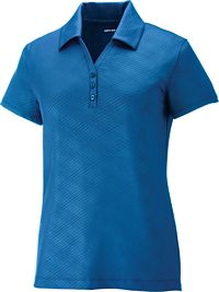 Ladies' Stretch Embossed Polo (78659)