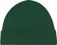 Acrylic Cuff Toque - Jersey Knit Forest Green(0550M)