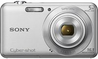 Sony Cybershot Silver 16.1 MP  Camera with 5X Optical Zoom (DSC-W710)