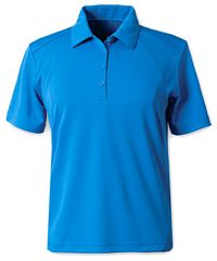 Men's Textured Golf Shirt (S05770)