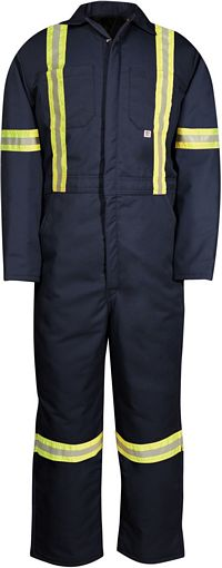 Men's Reflective Insulated Coveralls (837BF)