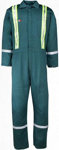 Westex UltraSoft® Work Coverall with Silver Reflective (1328US7)