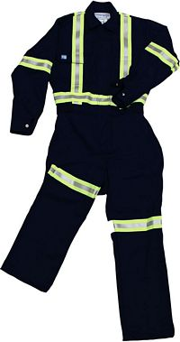 Ladies' High Visibility 100% Cotton Coverall (WCC-034-2Y)