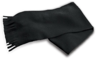 Anti-Pill Polar Fleece Scarf with Fringes (FP579)
