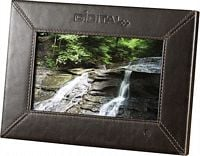 Leather Digital Photo Frame (7100-04)