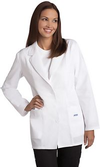 Ladies Fitted Fashion Lab Coat (L390)
