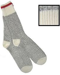 Grey Wool Work Socks (402)