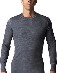 Two Layer Wool Blend Shirt Undershirt (8813)