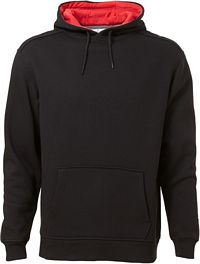 Men's Contrast Hooded Sweatshirt (185C00)
