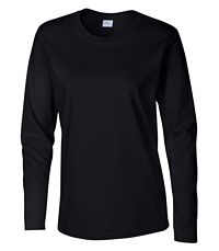 Women's Heavy Cotton L/S T-Shirt (5400L)