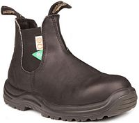 Unisex Blundstone Green patch CSA Black (163)