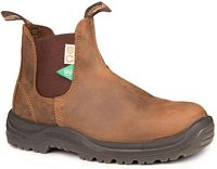 Unisex Blundstone Green patch CSA Crazy Horse Brown (164)