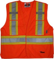 Viking 5pt Tear Away Safety Vest (6135O)